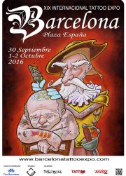 XIX Barcelona Tattoo Expo 2016