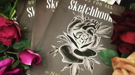 Ya disponible en Roses for all! Sketchbook!!!